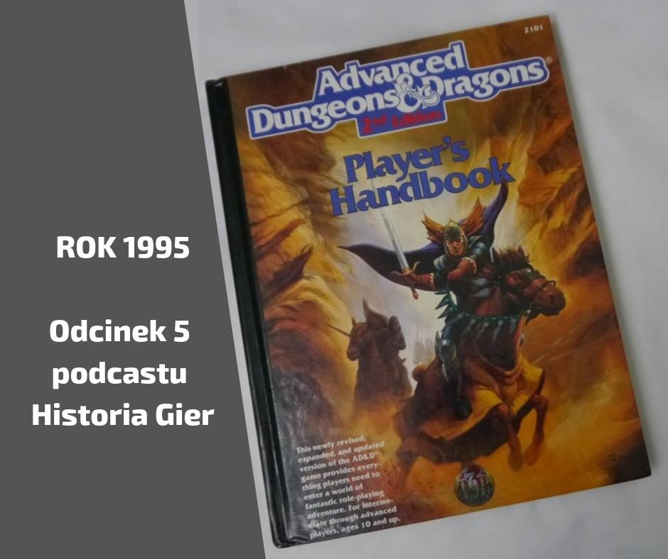 Odcinek 5 Podcastu o Historii Gier – Rok 1995